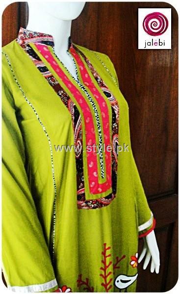 Jalebi Eid Collection 2012 Dresses for Girls