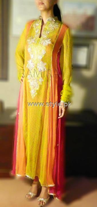 Ramira Eid Collection 2012 Outfits for Women