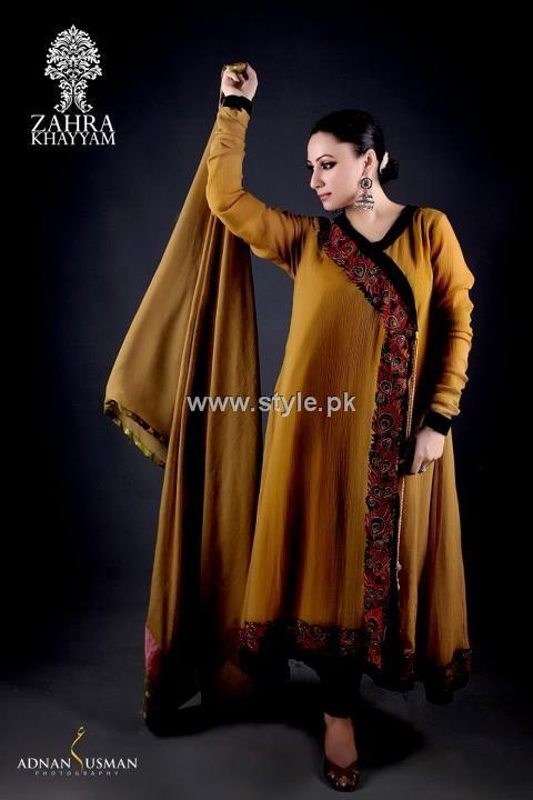 Zahra Khayyam Eid Collection 2012 for Women