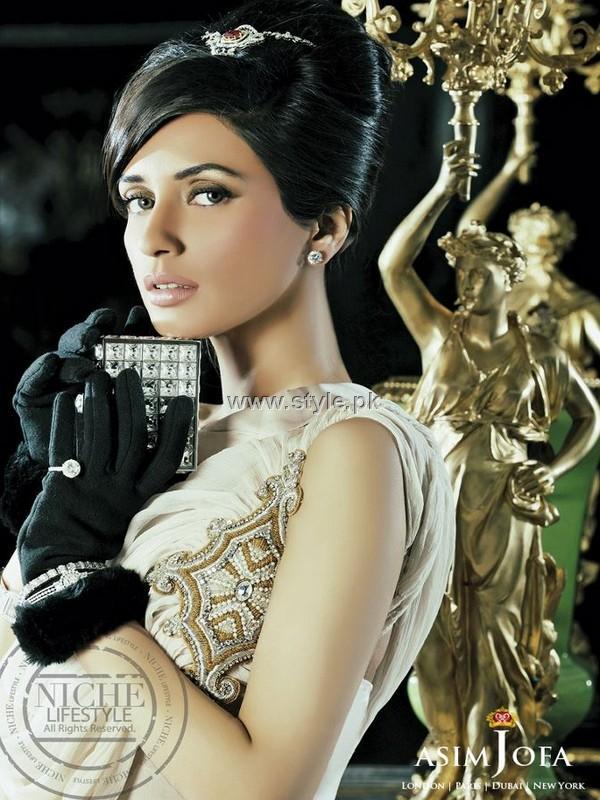 Asim Jofa Party Wear Dresses 2012 for Ladies