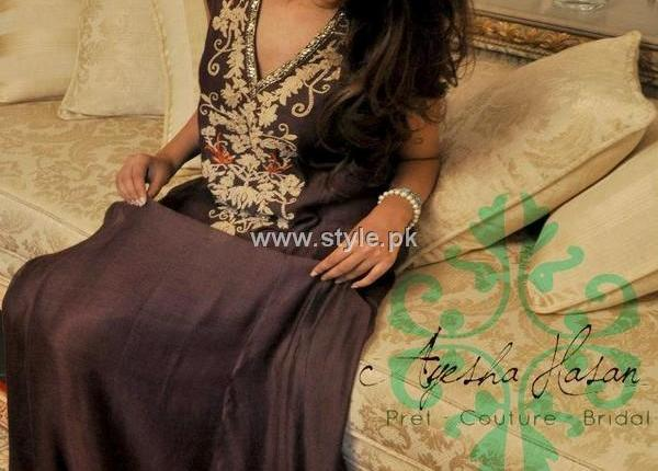 Ayesha Hasan Fall Collection 2012 for Women and Girls