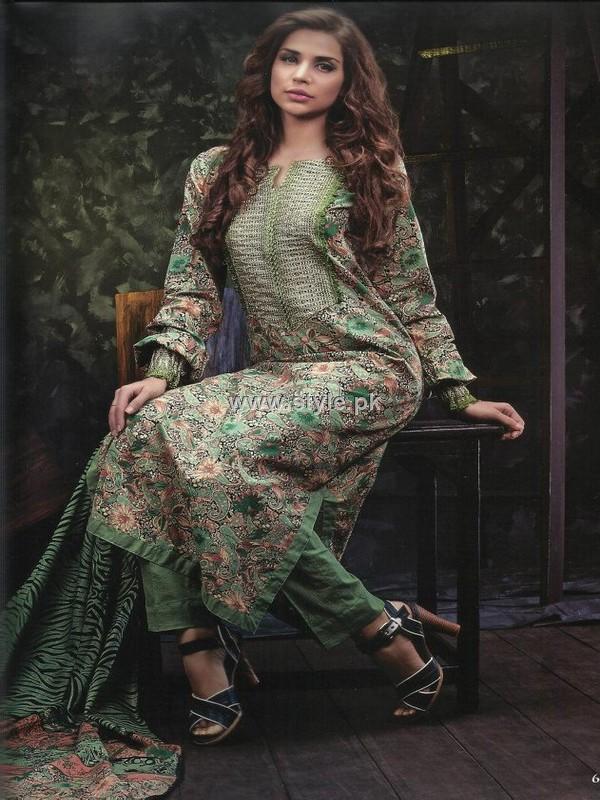 Firdous Resham Cotton 2012 Collection for Women
