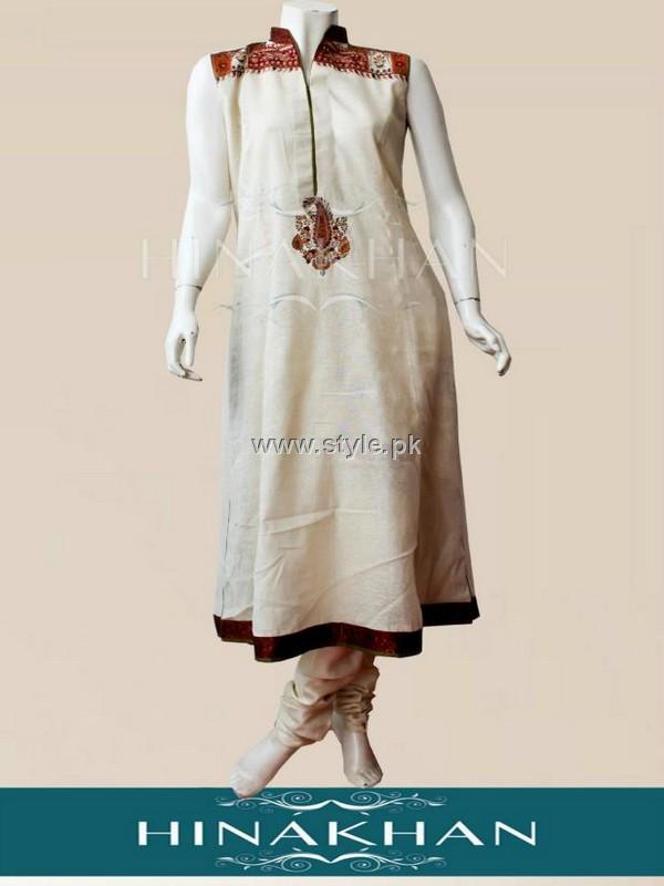 Hina Khan Party Wear Dresses 2012 for Women