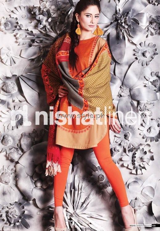 Nishat Linen Winter Pret Collection 2012 for Women