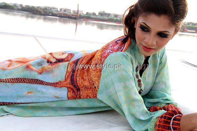 Zohra Alam Digital Prints 2012 for Women