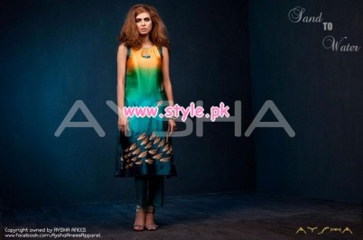 Aysha Anees Latest Winter 2012 Collection For Women 006
