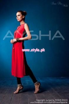 Aysha Anees Latest Winter Dresses For Girls 2012-13 011