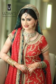Bridal Makeover By Uzma Bridal Salon 004