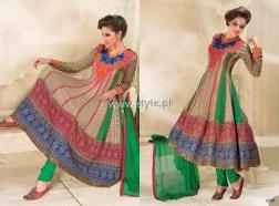 Formal Wear Anarkali Frocks Designs for Women 002