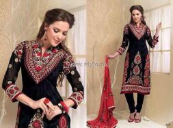 Formal Wear Anarkali Frocks Designs for Women 005