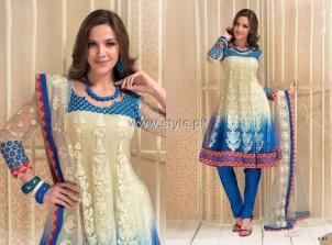 Formal Wear Anarkali Frocks Designs for Women 009