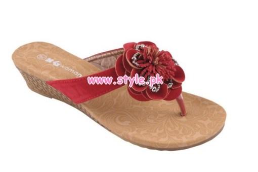 Gul Ahmed Latest Foot Wears 2012 For Winter 001