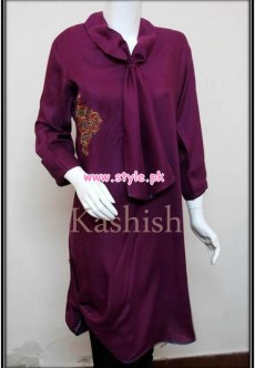 Kashish Latest Casual Wear Dresses For Winter 2012 001