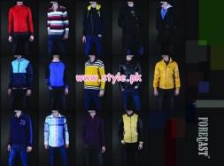 Latest Forecast Winter Casual Dresses For Men & Women 2012 009