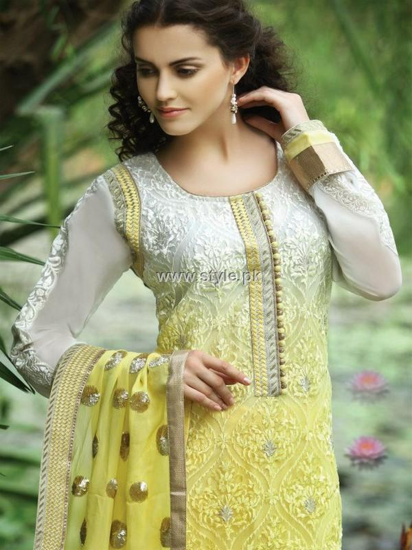 Natasha Couture Embroidered Shalwar Kameez 2012 for Ladies
