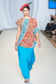 Gulabo Western Collection 2012 At PFW3, London 002