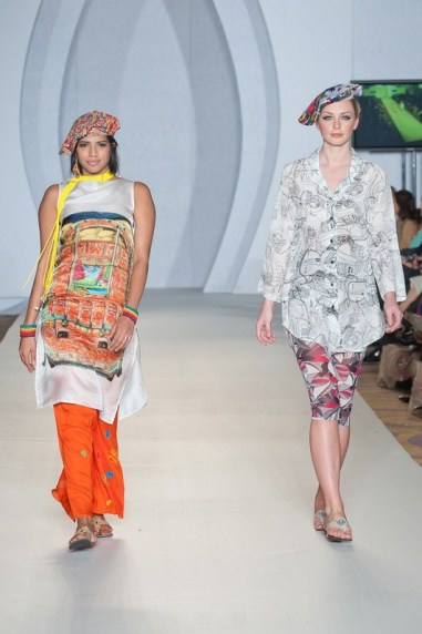 Gulabo Western Collection 2012 At PFW3, London 007