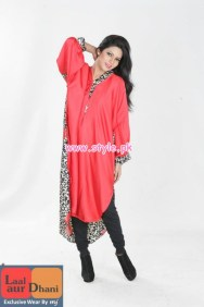 Laal Aur Dhani Latest Winter Collection For Women 2012-13 008