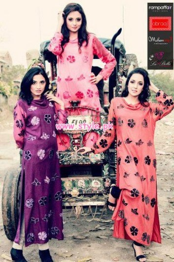 Latest Winter Casual Dresses By Abraaj 2013 014