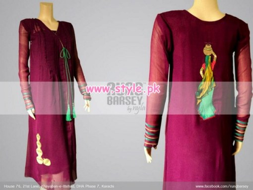 Rung Barsey by Nyla Party Wear Dresses 2013 001