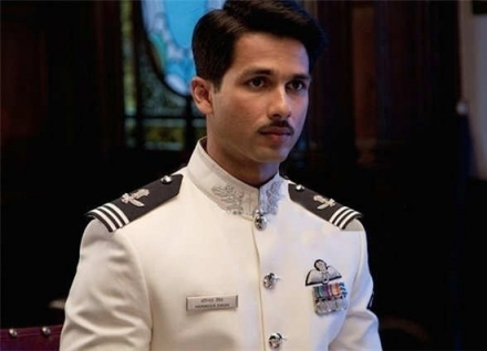 Shahid Kapoor mustache for his movie Mausam