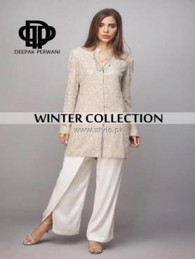 Deepak Perwani Winter Collection 2013 for Ladies 006