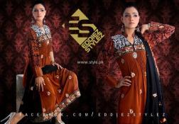 Eddiez Stylez Party Wear Collection 2013 for Women 002