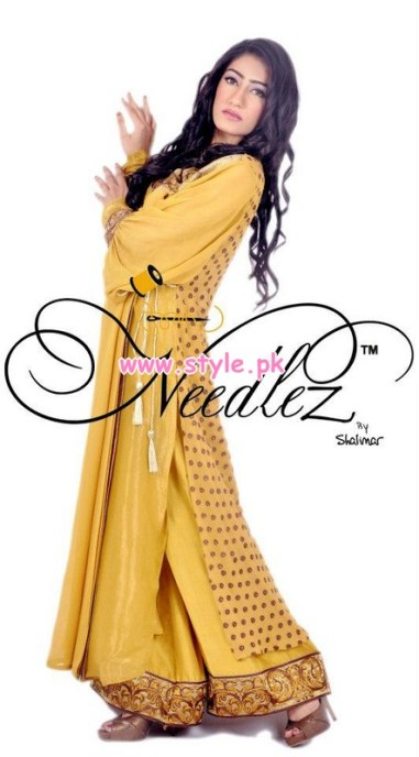 Needlez by Shalimar Party Dresses 2013 For Winter 006