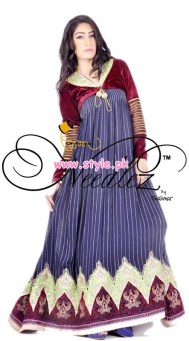 Needlez by Shalimar Party Dresses 2013 For Winter 010