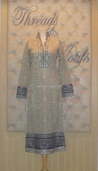 Threads and Motifs New Embroidered Dresses 2013 for Ladies 007