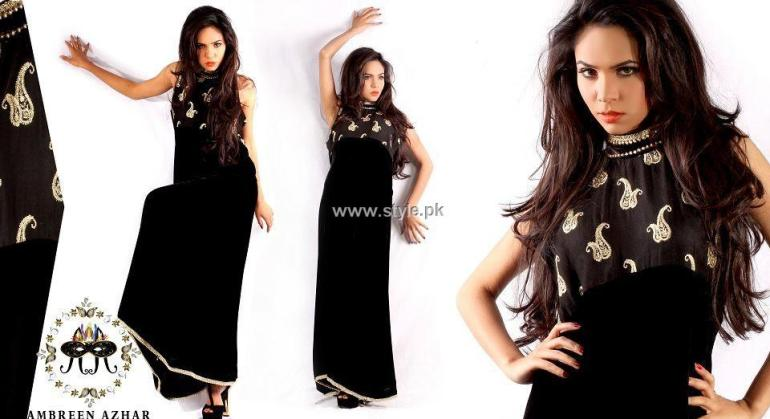 Ambreen Azhar Party Wear Dresses 2013 for Girls