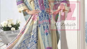 Anum Lawn Collection 2013 by Al-Zohaib Textiles