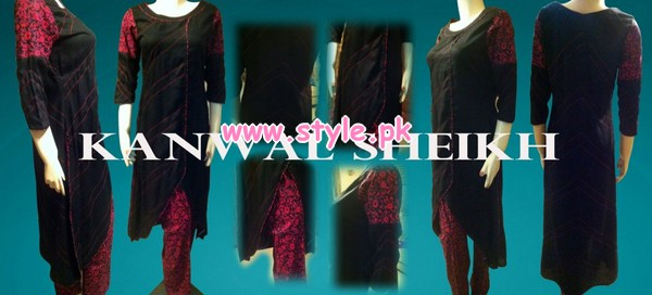 Kanwal Sheikh Party Wear Collection For Women 2013 002