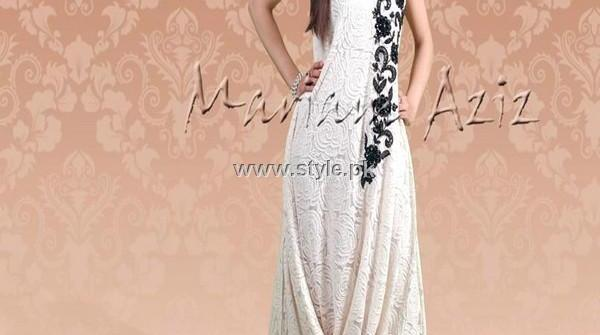 Mariam Aziz Party Wear Dresses 2013 for Women