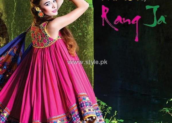 Rang Ja Casual Wear Dresses 2013 for Girls