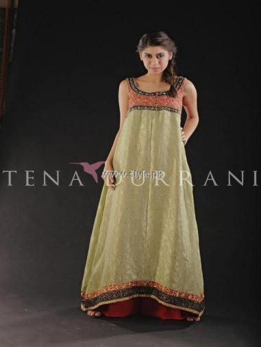 Tena Durrani Party Wear Dresses 2013 for Women 009