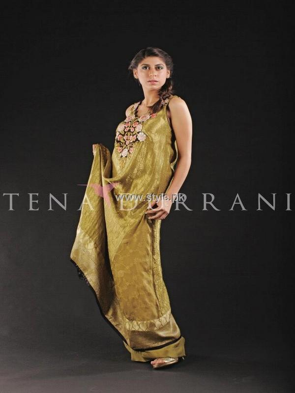 Tena Durrani Party Wear Dresses 2013 for Women 012