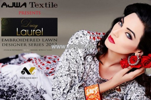 Ajwa Textile Summer Collection 2013 For Women 006