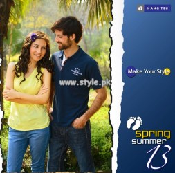 Hang Ten Casual Wear Collection 2013 For Spring 010
