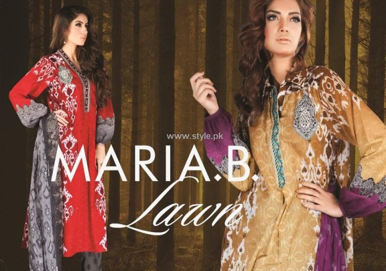 Maria B. Lawn Collection 2013 for Women