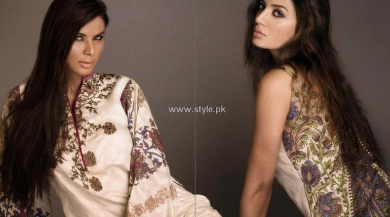 Sana Safinaz Lawn 2013 Dresses for Women