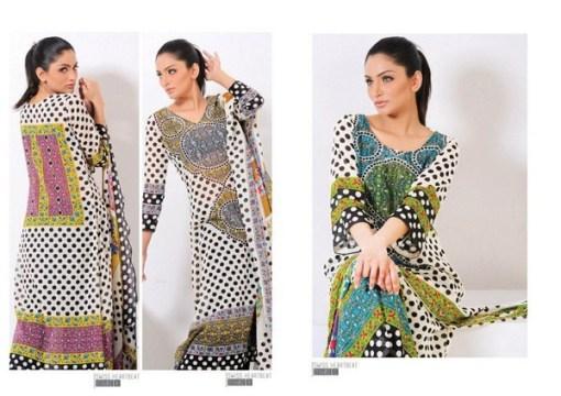 Sitara Textiles Swiss Heart Beat Collection 2013 For Women 001