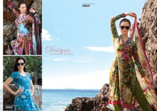 Sitara Textiles Swiss Heart Beat Collection 2013 For Women 0012