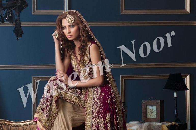 Waseem Noor Bridal Wear Dresses 2013 for Women