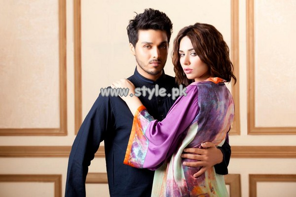 Ahsan Khan Party Dresses 2013 For Boys And Girls 004
