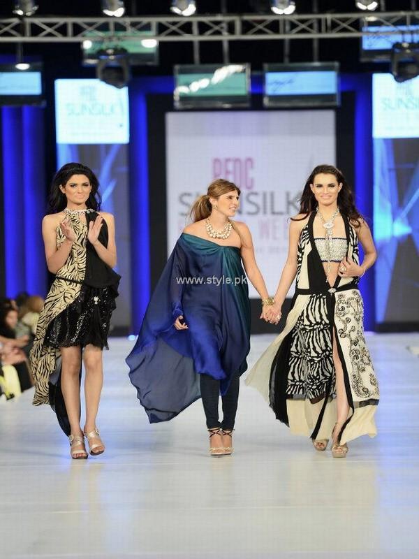 Ayesha F Hashwani at PSFW 2013-Quite Western