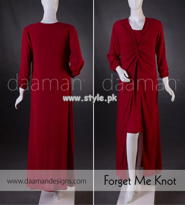 Daaman Summer Casual Wear Dresses 2013 006