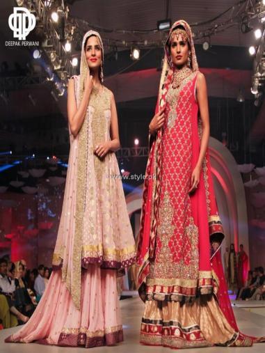 Deepak Perwani Bridal Collection at BCW 2013