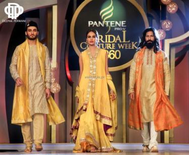 Deepak Perwani Bridal Collection at BCW 2013 005
