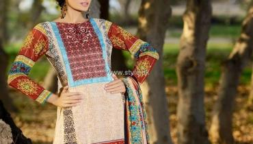 Firdous Summer 2013 Embroidered Swiss Voile Collection